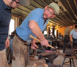 Learn more about our farrier instructor, John Crothers