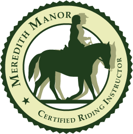 Meredith Manor Riding Instructor Certification
