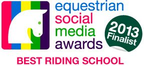 Equestrian Social Media Awards 2013 Finalist - Best use of social media by a riding school