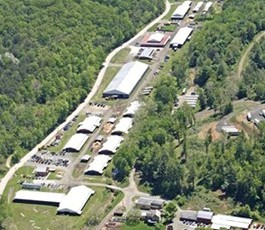 Meredith Manor campus aerial view