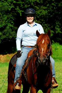 Stephanie Jablonsky is a student at Meredith Manor, one of several colleges with equestrian programs.