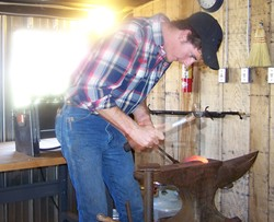 A forging student