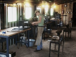A student forging