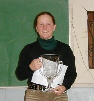 Michelle Wellman, a student at Meredith Manor equine school